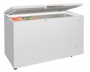 GM500 Chest Freezer -white-open