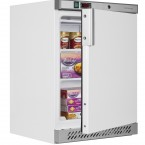 UF200 White Freezer - door open