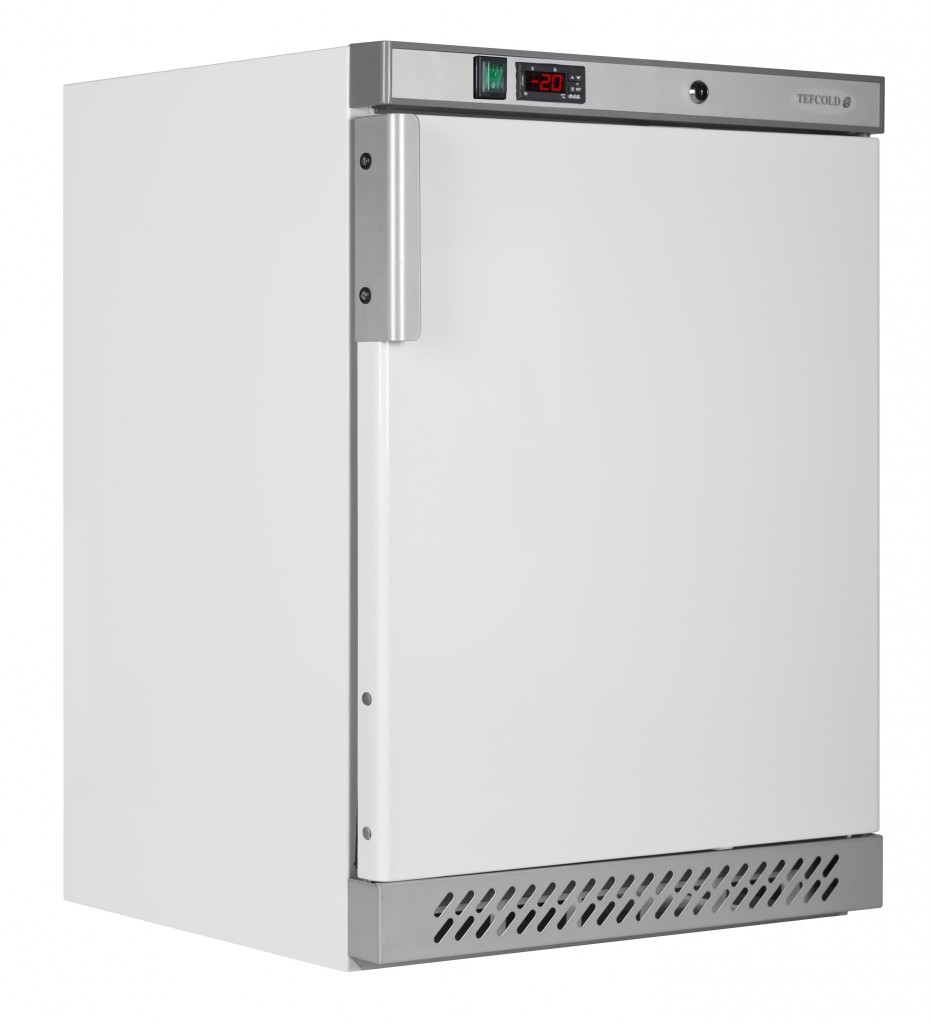 UF200 White Freezer- door shut