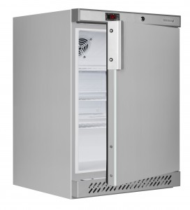 ur200ss-STAINLESS St FRIDGE - Open empty